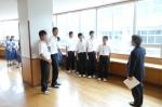平成24年度 体験入学<那珂川南中学校>【7】