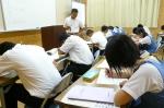 平成24年度 体験入学<那珂川南中学校>【8】