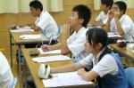 平成24年度 体験入学<那珂川南中学校>【9】