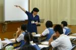 平成24年度 体験入学<那珂川南中学校>【10】