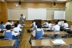 平成24年度 体験入学<那珂川南中学校>【16】