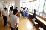 平成24年度 体験入学<那珂川南中学校>【22】