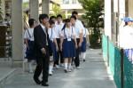 平成24年度 体験入学<天拝中学校・大野東中学校>【10】