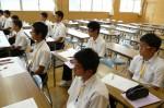 平成24年度 体験入学<天拝中学校・大野東中学校>【21】
