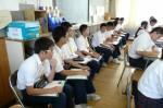 平成24年度 体験入学<天拝中学校・大野東中学校>【25】