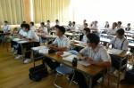 平成24年度 体験入学<天拝中学校・大野東中学校>【38】