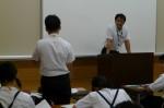 平成24年度 体験入学<天拝中学校・大野東中学校>【42】