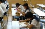 平成24年度 体験入学<天拝中学校・大野東中学校>【43】