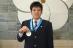 水泳部の後藤滉平君(普通科2年)