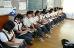 平成25年度 体験入学<春日北中学校・天拝中学校>【16】