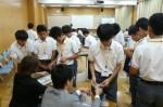 平成25年度 体験入学<春日北中学校・天拝中学校>【36】