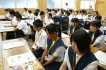 平成25年度 体験入学<大野東中学校・春日中学校>【3】