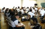 平成25年度 体験入学<大野東中学校・春日中学校>【25】