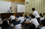 平成25年度 体験入学<大野東中学校・春日中学校>【48】