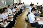 平成25年度 体験入学<甘木中学校>【25】