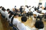平成25年度 体験入学<甘木中学校>【28】