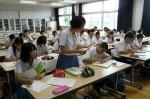 平成25年度 体験入学<甘木中学校>【39】