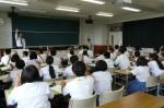 平成25年度 体験入学<甘木中学校>【40】