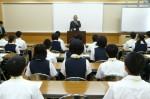平成25年度 体験入学<二日市中学校>【2】