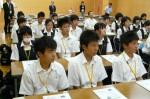 平成25年度 体験入学<二日市中学校>【4】