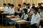 平成25年度 体験入学<二日市中学校>【6】