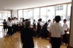 平成25年度 体験入学<二日市中学校>【8】
