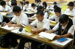 平成25年度 体験入学<二日市中学校>【11】