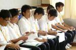 平成25年度 体験入学<二日市中学校>【20】