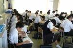平成25年度 体験入学<二日市中学校>【21】