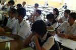 平成25年度 体験入学<二日市中学校>【34】