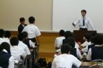 平成25年度 体験入学<二日市中学校>【35】
