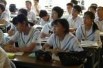 平成25年度 体験入学<春日野中学校>【40】