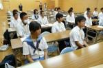 平成25年度 体験入学<三輪中学校>【4】