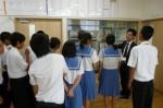 平成25年度 体験入学<三輪中学校>【7】