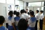 平成25年度 体験入学<三輪中学校>【8】