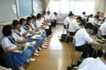 平成25年度 体験入学<三輪中学校>【13】