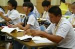 平成25年度 体験入学<三輪中学校>【17】