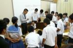 平成25年度 体験入学<三輪中学校>【19】