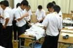 平成25年度 体験入学<三輪中学校>【23】