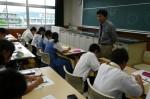 平成25年度 体験入学<那珂川南中学校>【18】