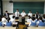 平成25年度 体験入学<那珂川南中学校>【28】