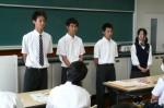 平成25年度 体験入学<那珂川南中学校>【29】