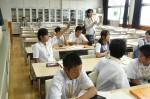平成25年度 体験入学<那珂川南中学校>【30】
