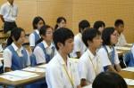 平成25年度 体験入学<春日東中学校>【3】