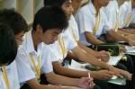 平成25年度 体験入学<春日東中学校>【18】
