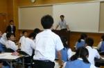 平成25年度 体験入学<春日東中学校>【43】