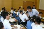 平成25年度 体験入学<春日東中学校>【44】