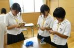 平成25年度 体験入学<三国中学校>【34】