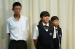 平成25年度 生徒会総務立会演説会【8】