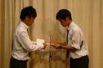 FIFA U17ワールドカップUAE2013 日本代表に選ばれた瓜生くんの壮行会【2】